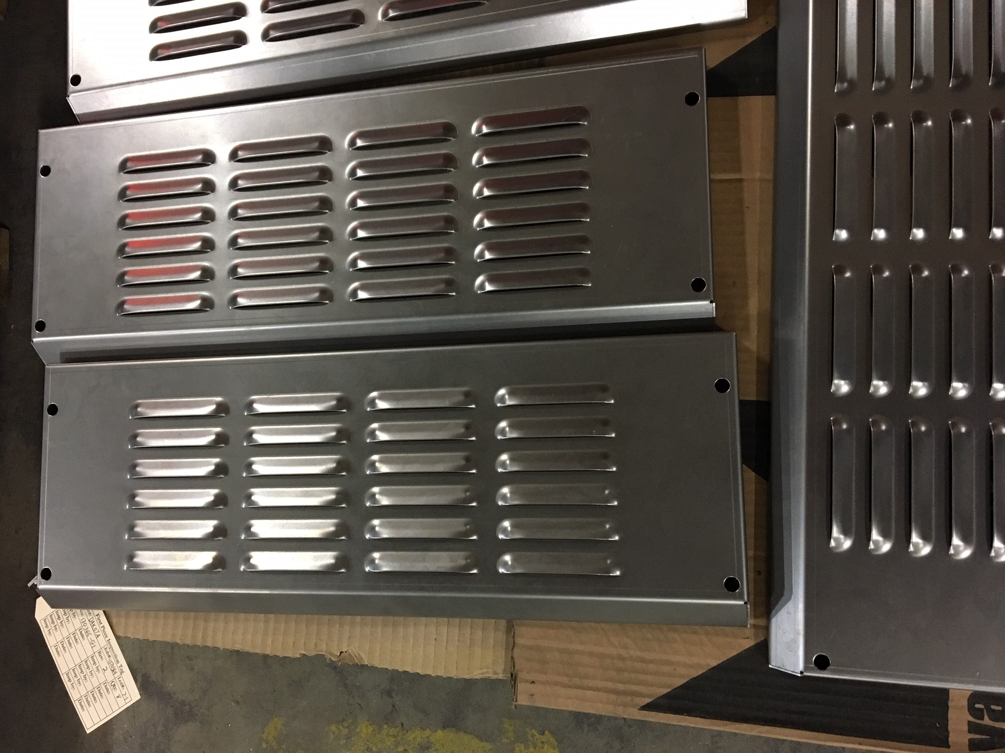 Louvered Panels