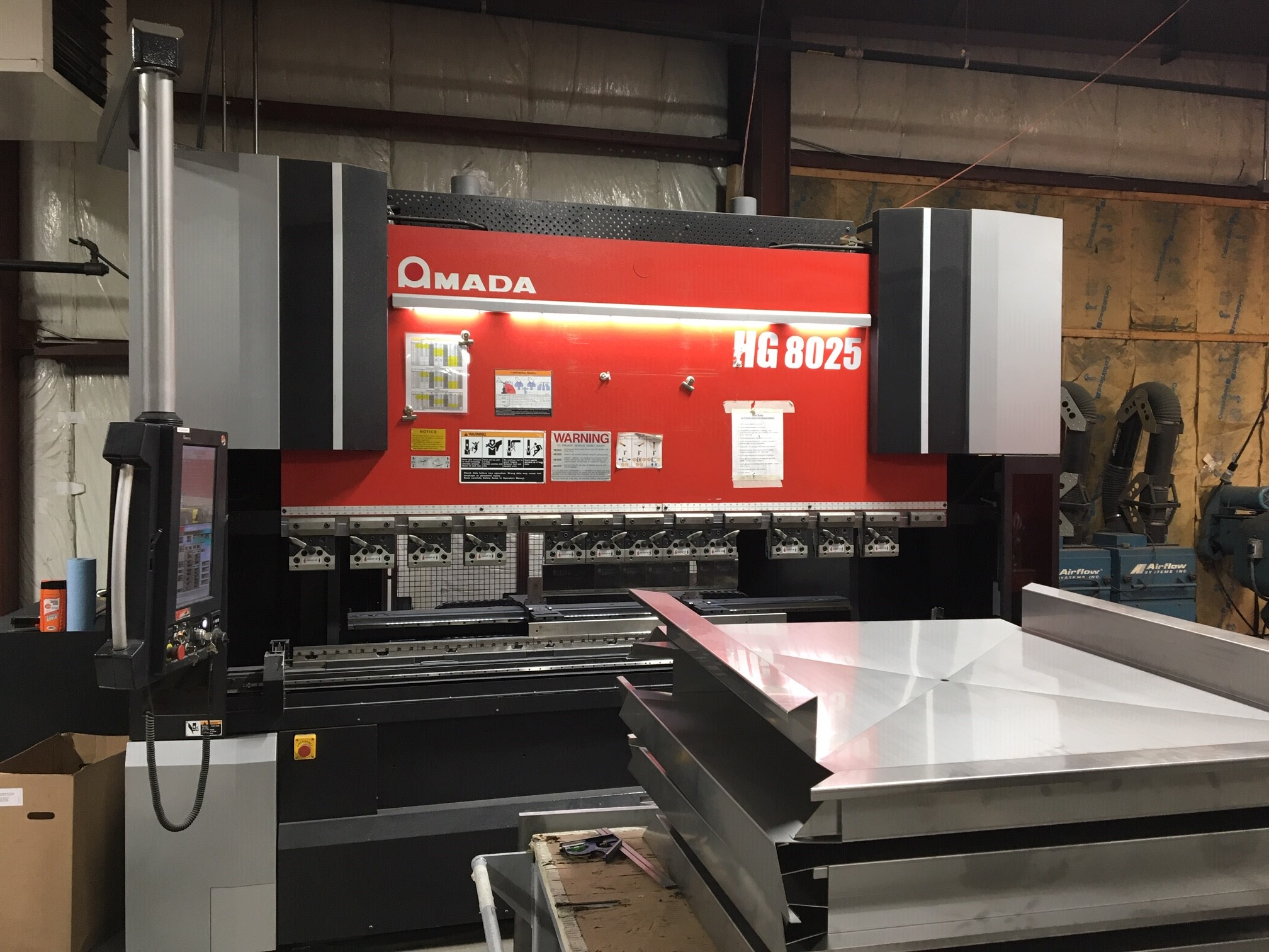 New Amada HG Series Press Brake